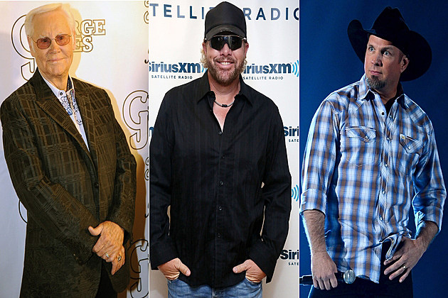 George Jones Toby Keith Garth Brooks