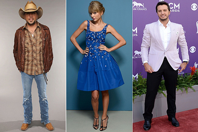 Jason Aldean Taylor Swift Luke Bryan