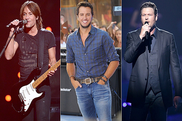 Keith Urban Luke Bryan Blake Shelton