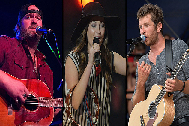 Lee Brice Kacey Musgraves Brett Eldredge