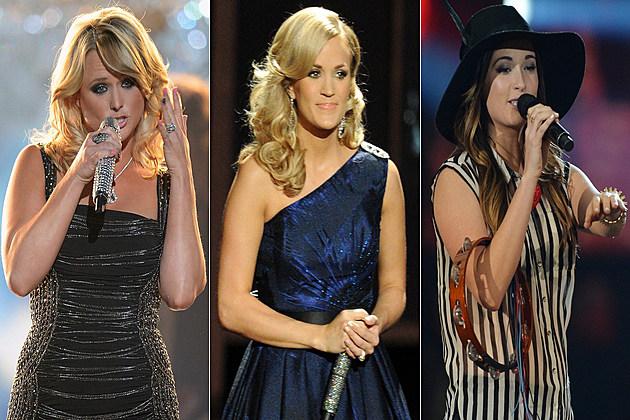 Miranda Lambert Carrie Underwood Kacey Musgraves
