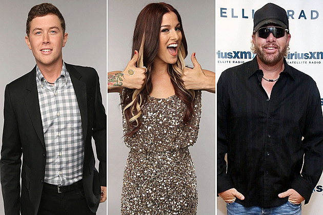 Scotty McCreery Cassadee Pope Toby Keith