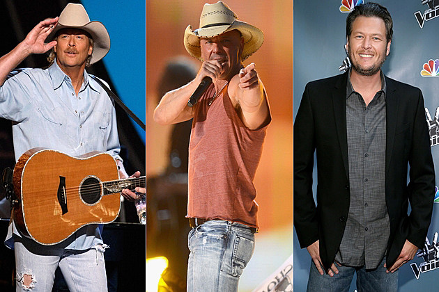 Alan Jackson Kenny Chesney Blake Shelton