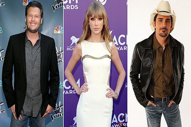 Blake Shelton Taylor Swift Brad Paisley