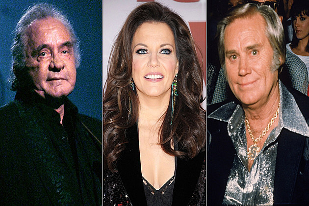 Johnny Cash Martina McBride George Jones