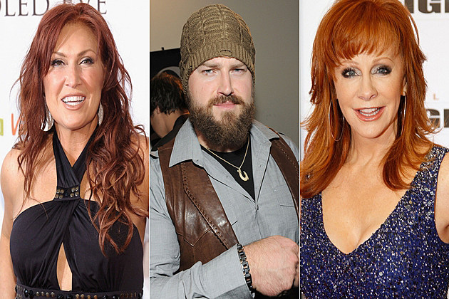 Jo Dee Messina Zac Brown Reba McEntire