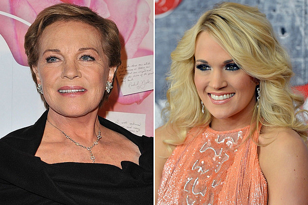 Julie Andrews Carrie Underwood