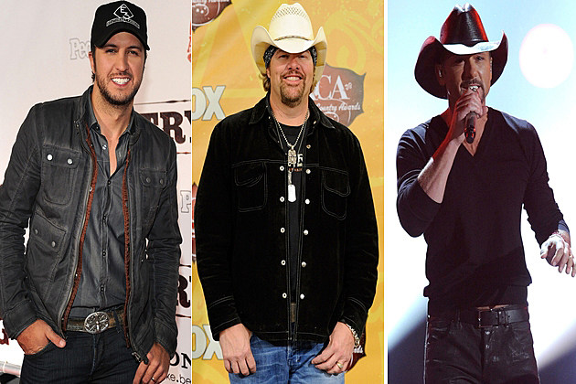 Luke Bryan Toby Keith Tim McGraw