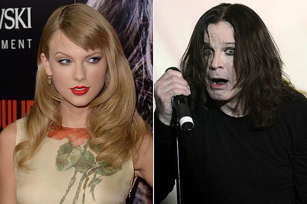Taylor Swift Ozzy Osbourne