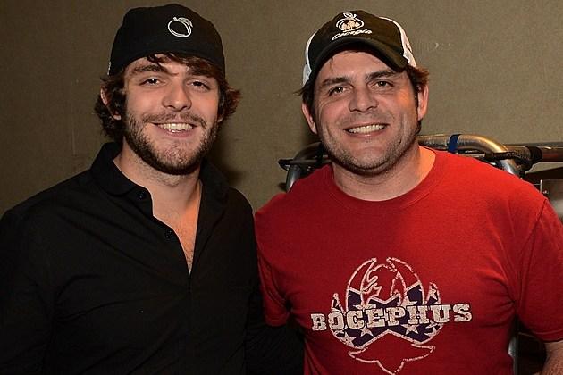 Thomas Rhett and Dad Rhett Akins Make Country Music HistoryRhett Akins And Thomas Rhett
