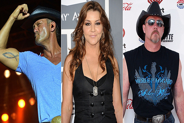 Toughest Country Stars