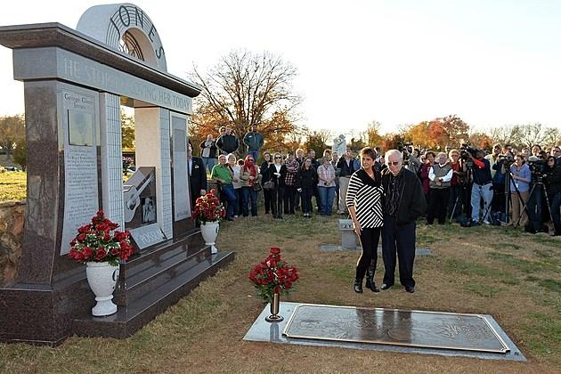 George Jones Burial Monument