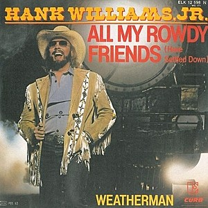 Hank Jr. All My Rowdy Friends Have Settled Down