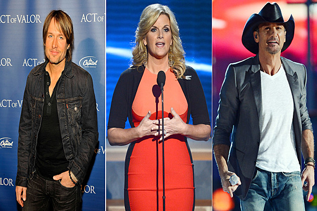 Keith Urban Trisha Yearwood Tim McGraw
