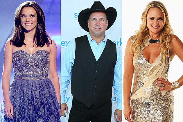 Martina McBride Garth Brooks Miranda Lambert