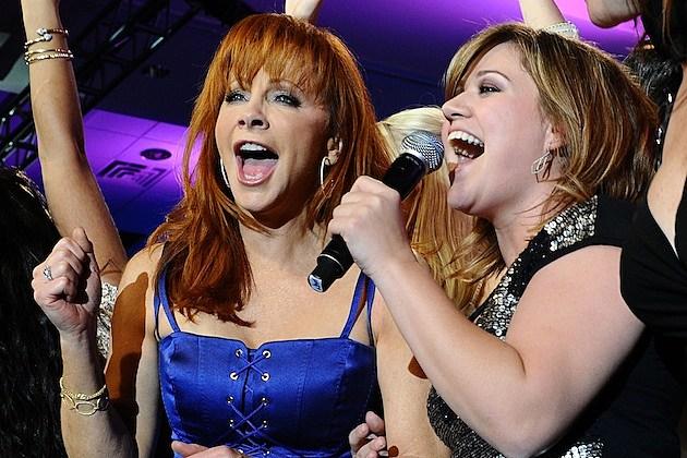 Reba McEntire Kelly Clarkson