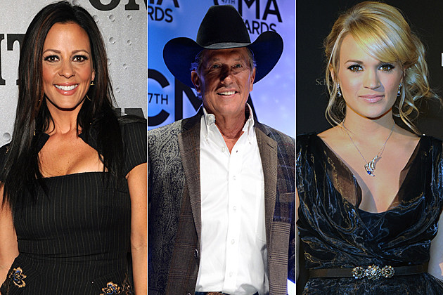 Sara Evans George Strait Carrie Underwood