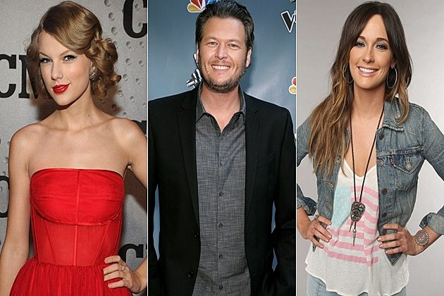 Taylor Swift Blake Shelton Kacey Musgraves