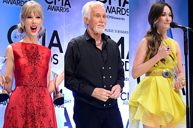Taylor Swift Kenny Rogers Kacey Musgraves