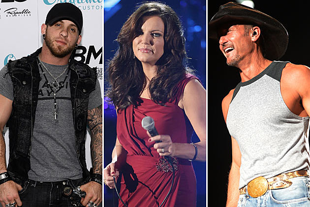 Brantley Gilbert Martina McBride Tim McGraw
