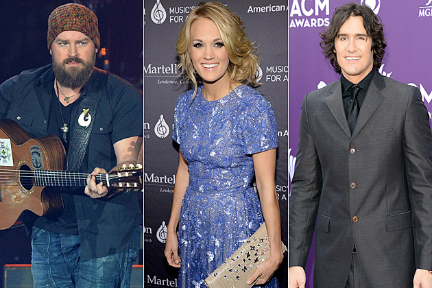 Zac Brown Carrie Underwood Joe Nichols