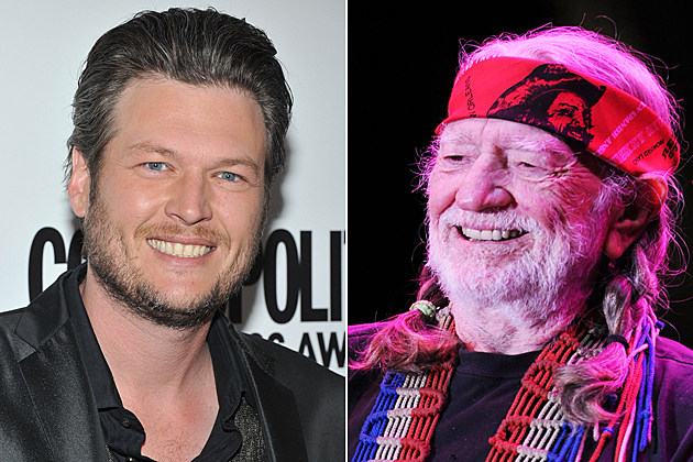 Blake Shelton Willie Nelson