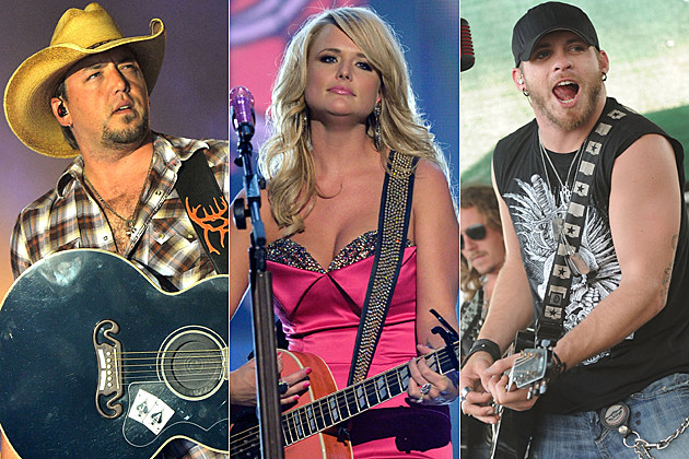 Jason Aldean Miranda Lambert Brantley Gilbert