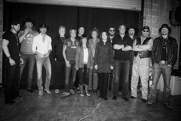 Keith Urban All for the Hall 2013