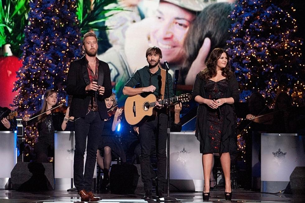 lady antebellum perform ill be home for christmas on cma country christmas