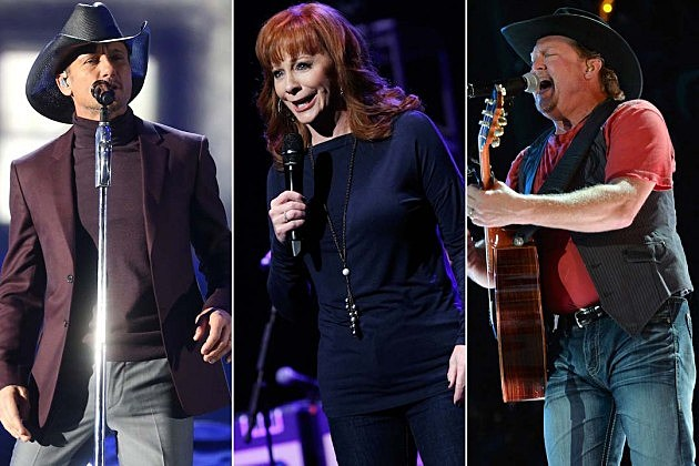 Reba McEntire, Tim McGraw, Tracy Lawrence