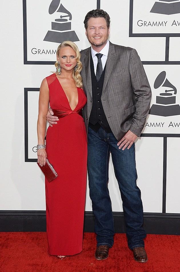 Miranda Lambert Blake Shelton Grammys