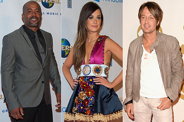 Darius Rucker Kacey Musgraves Keith Urban