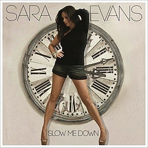 Sara Evans Slow Me Down Cover Art