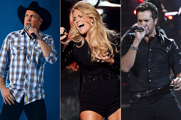 Garth Brooks Carrie Underwood Luke Bryan