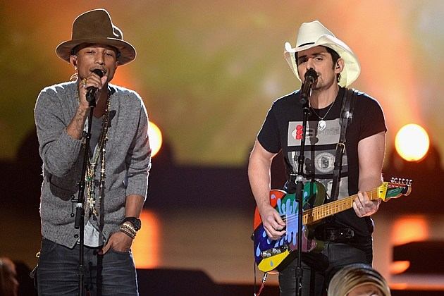 Pharrell Williams Brad Paisley