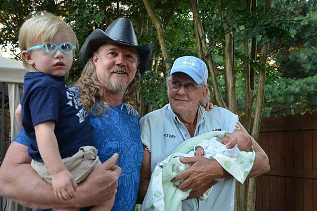 Trace Adkins and Dad