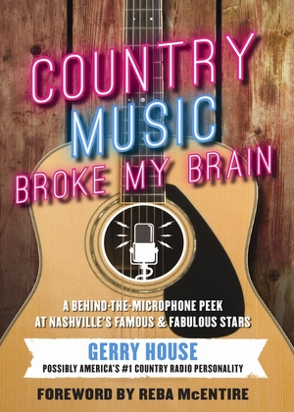 Gerry House Talks New Book Country Music Broke My Brain
