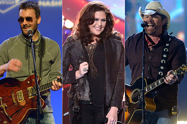 Eric Church Hillary Scott Toby Keith