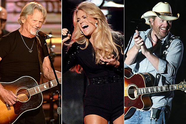Kris Kristofferson Carrie Underwood Toby Keith