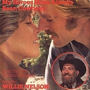 Willie Nelson My Heroes Have Always Been Cowboys Single Art