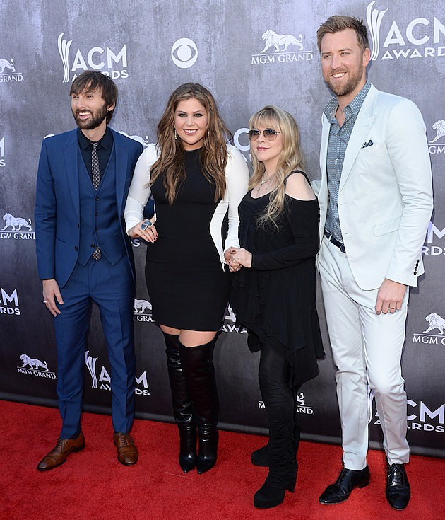 Lady Antebellum and Stevie Nicks
