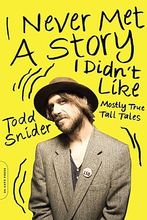Todd Snider Book