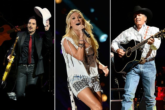 Brad Paisley Carrie Underwood George Strait