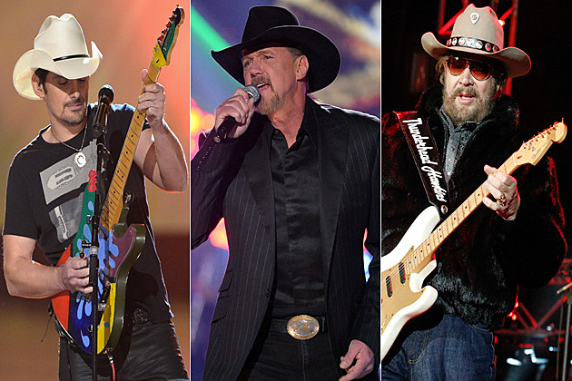 Brad Paisley Trace Adkins Hank Williams Jr