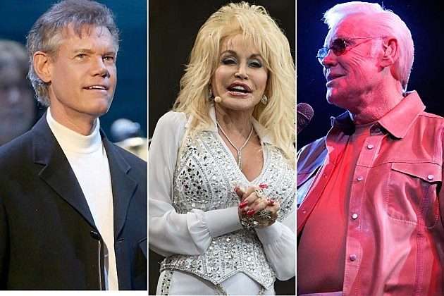 Dolly Parton, Randy Travis, George Jones