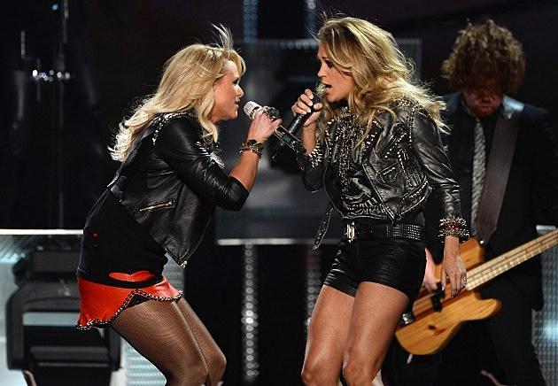 Carrie Underwood Miranda Lambert
