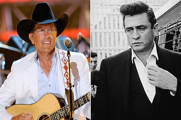 George Strait Johnny Cash