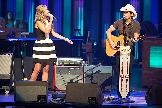 Brad Paisley and Sarah Darling