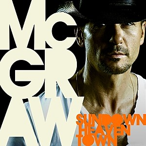 Tim McGraw Sundown Heaven Town Cover Art