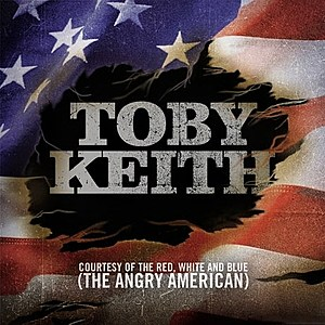 Toby Keith Red White and Blue